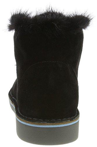 Pollini Ladies W.ankle Boot Desert Black (nero)