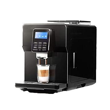 LJHA kafeiji Máquina de café Espresso, café de Lujo con un Solo botón, máquina