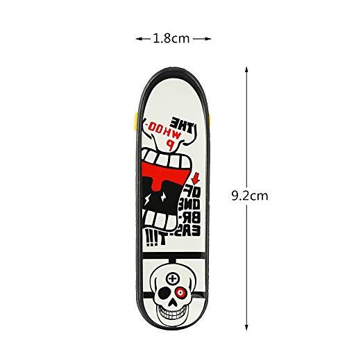 BeautyMood 24 pcs Professional Mini Finger Skateboard, Creative Fingertip Movement for Adults and Children (Random Mode). by BeautyMood (Image #2)