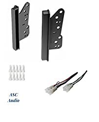 Asc Double Din Car Stereo Dash Kit And Wire Harness For Some Scion Toyota Compatible Vehicles Listed Below