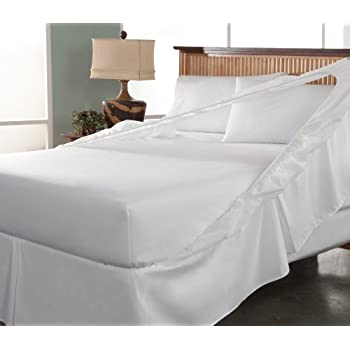 Amazon Tailor Fit Easy on Easy off Bedskirt and Box Spring
