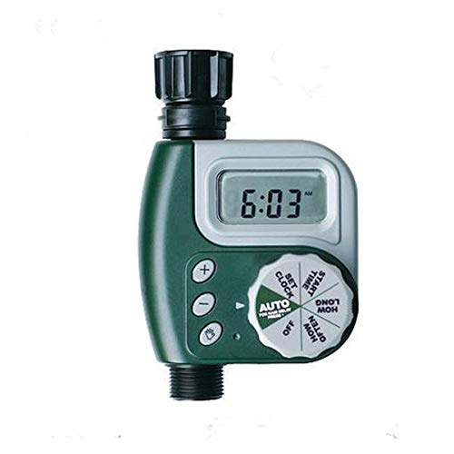 XLYS Programmable Water Timer Automatic Irrigation Equipment Digital Water Hose Timers Autoplay Irrigator