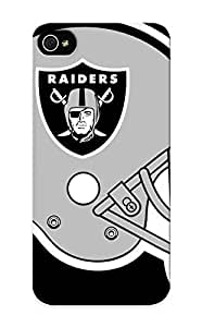 Freshmilk Durable Defender Case For Iphone 5/5s Tpu Cover(oakland Raiders) Best Gift Choice