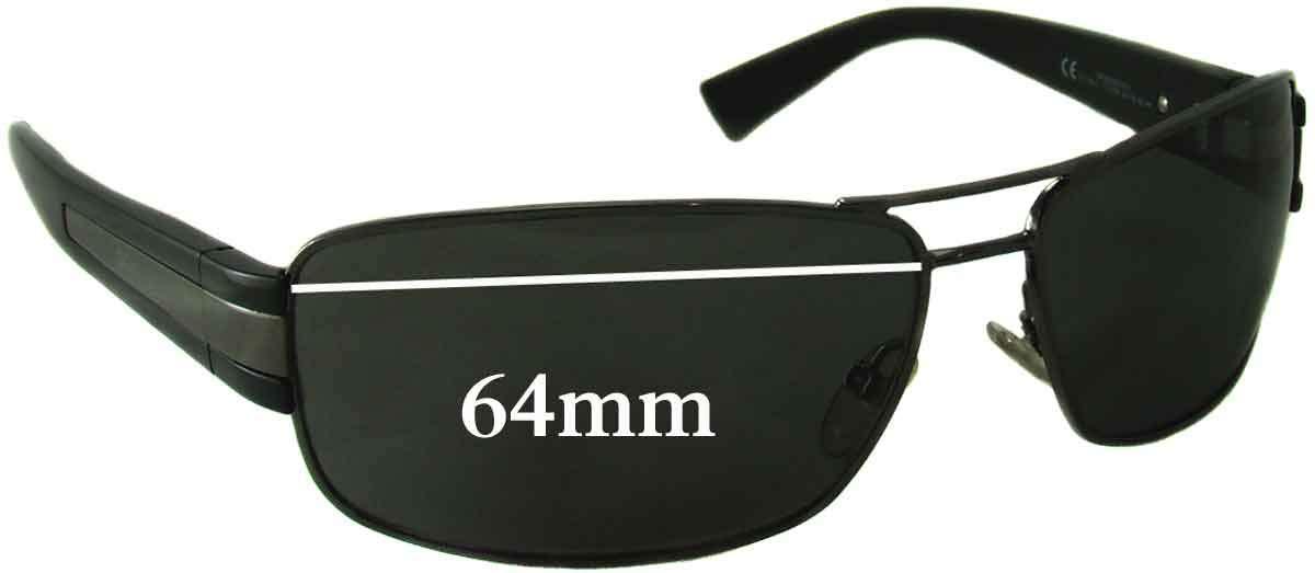 104b96f518ce Amazon.com  SFx Replacement Sunglass Lenses fits Giorgio Armani GA 598 S  64mm wide (Polycarbonate Clear Hardcoat Pair-Regular)  Clothing
