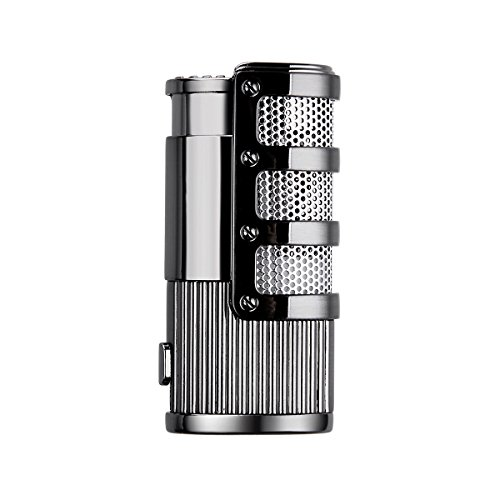 YF Jet Flame Torch Triple Butane Cigarette Gas Cigar Lighter with Gift Box