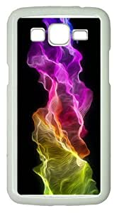 cases originalrainbow art waves PC White case/cover for Samsung Galaxy Grand 2/7106