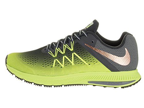 Nike 852441-700, Zapatillas de Trail Running para Hombre Amarillo (Volt / Mtlc Red Bronze-Anthracite-Black)