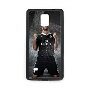 Real Madrid Black Samsung Galaxy Note 4 Cell Phone Case Black zaxm