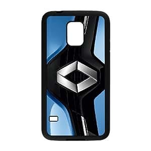 Logotipo de Renault O6J82J1HD caso funda Samsung Galaxy Mini funda S5 HWMV52 negro