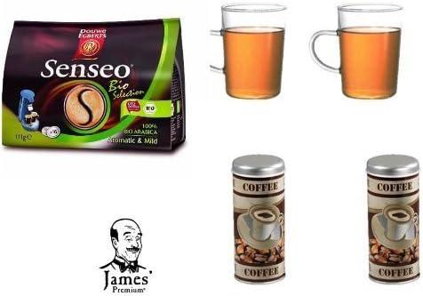 Para cápsulas Senseo Bio Selection para Senseo y otros cafeteras ...
