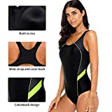CharmLeaks Women Long Torso 1 Piece Swim Suits