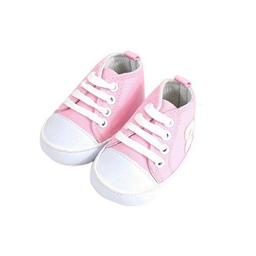 Baloncesto Bebé 6-12 meses rosa y blanco