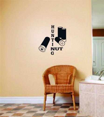 Design With Vinyl Hunting Nut With Gun Bullets Picture Ar...