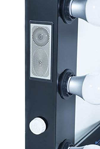 Vanity With Lights And Bluetooth : ReignCharm Hollywood Vanity Mirror Bluetooth Audio-Enabled LED Light Bulbs - ZonHunt