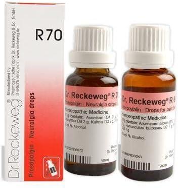 Amazon.com: Dr. Reckeweg Alemania R70 Neuralgia gotas, 1 ...