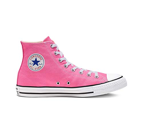 (Chuck Taylor All Star Canvas High Top, Pink, 6)