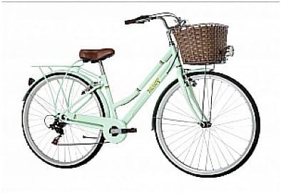 Monty Vintage Bicicleta de Ciudad, Unisex Adulto, Verde, Talla ...