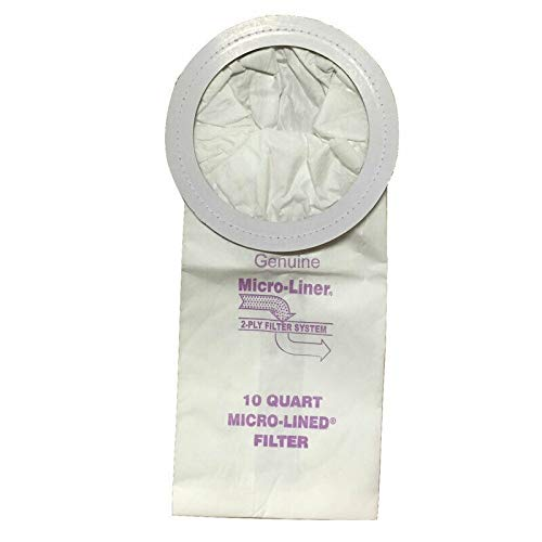 - DVC ProTeam 10qt 100331 Micro Allergen Vacuum Cleaner Bags Made in USA [ 40 Bags ]
