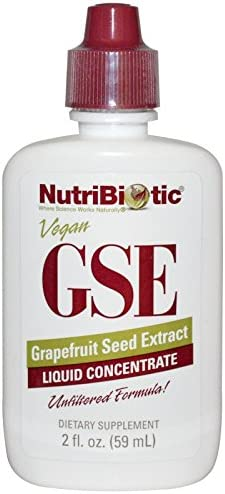 NutriBiotic, GSE, Grapefruit Seed Extract, Liquid Concentrate, 2 fl oz 59 ml