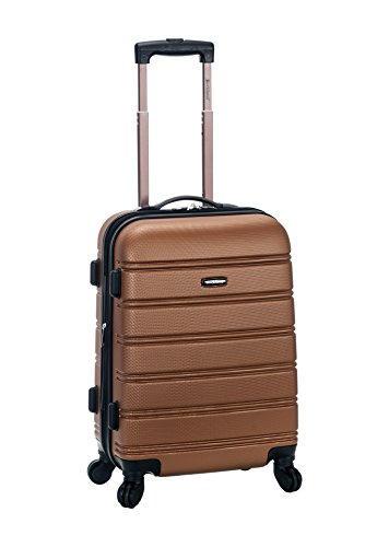rockland-melbourne-20-inch-expandable-abs-carry-on-brown