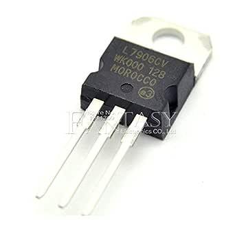 100Pcs 8V To-220 L7906cv 7906 St Voltage Regulator New