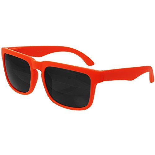 oramics orangene retro wayfarer sonnenbrille nerd brille. Black Bedroom Furniture Sets. Home Design Ideas