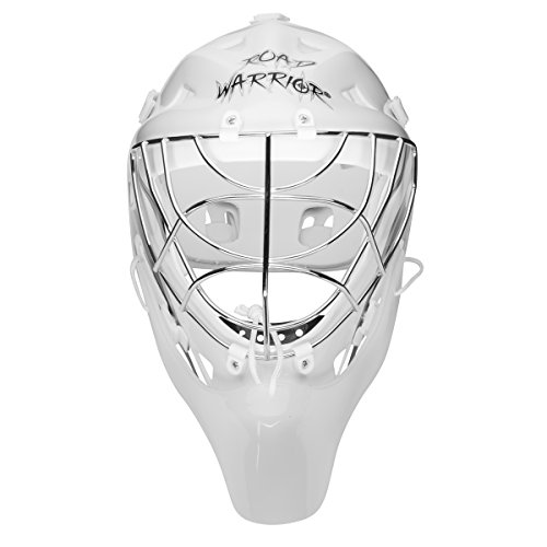 Road Warrior ROA-HOC-PTG-TP Goalie Mask with Throat Prote...