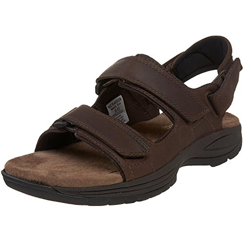 Dunham Mens St. Johnsbury Sandal, Brown, 47.5 4E EU/12.5 4E UK