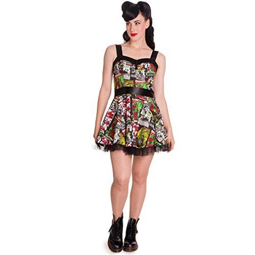 Hell Bunny - Vestido - para mujer Multicolor
