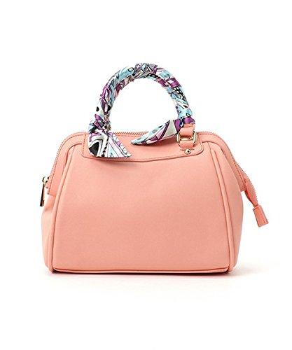 F Jp Scarf Handle Tote s Cute Comp Bag Adult Shoulder 2way wOz8aqxZq