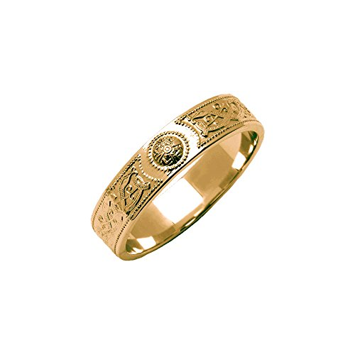 An Ri Wedding Ring 14K Gold Made in Ireland