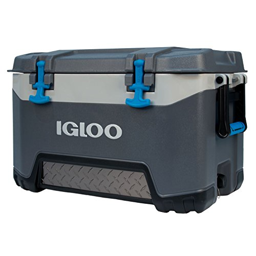 Igloo BMX 52 Quart Cooler - Carbonite Gray/Carbonite - Blue Igloo