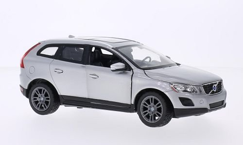 Volvo XC 60, silver, 0, Model Car, Ready-made, Rastar (Volvo Model)
