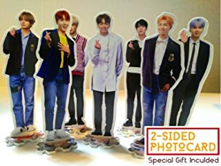 Big hit FanGoods BTS BANGTAN BOYS - MINI STAND-UP STANDING FIGURE MINIATURE (10.2 x 7.5 inch) -