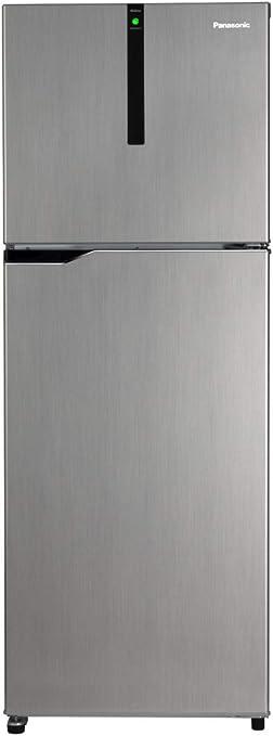 Panasonic 336 L 3 Star Inverter Frost Free Double Door Refrigerator  NR BG341VSS3, Shining Silver  Refrigerators