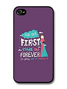 Frozen For The First Time in Forever Disney Animation Lyrics case for iPhone 4 4S
