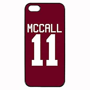 Teen Wolf McCall 11 - Black Case - Custom Personlized Tpu Durable Rubber Silicone Case Cover Skin For iPhone 5 5S