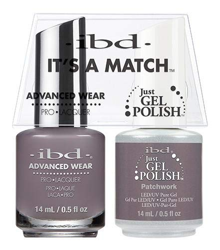 ibd Advanced Wear Color Duo Patchwork #565 UV Gel Color