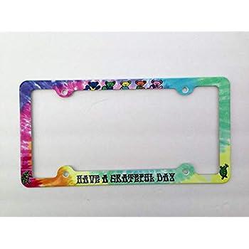 Amazon Com Jailjack License Plate Frames Grateful Dead