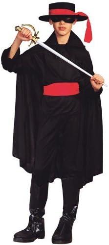 RG Costumes Bandit Costume Medium Black//Red