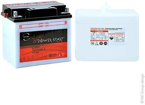 Nx Motorrad Batterie Y60 N30 La N60 N30 La 53030 12v 30ah Auto