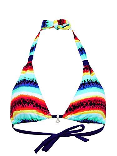 Sujetador del Bañador Banana Moon de Triángulos Pawnee Fabio Multicolor Multicolor