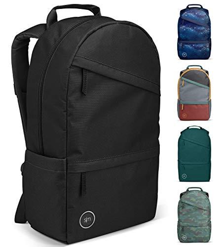 Simple Modern Legacy Backpack, Midnight Black, 25