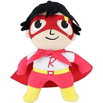 Ryans World Medium Plush Toy Red Titan Superhero