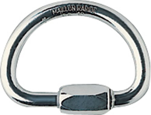 Petzl - DEMI ROUND, Semi-Circle Quick Link for Climbing by Petzl