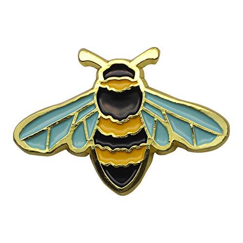 CUFTS Honey Bee Enamel Pin Nature Animal Mini Bee Pin Badge Cute Bee Wildlife Lapel Pin Jewelry