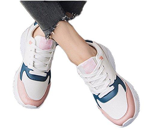 (チェリーレッド) CherryRed メンズ レディース スポーツ スニーカー トラベル ランニング 運動靴 歩きやすい 通気
