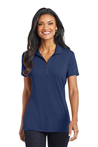 Port Authority Women's Cotton Touch Performance Polo, Estate Blue, XXX-Large