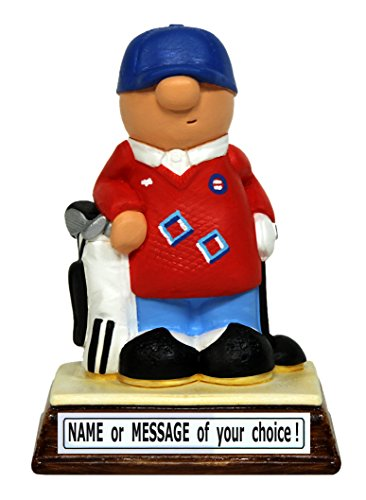 PERSONALIZED miniature Golf / Golfer figure – the perfect...