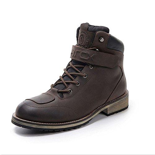 Vintage Moto Boots - 7